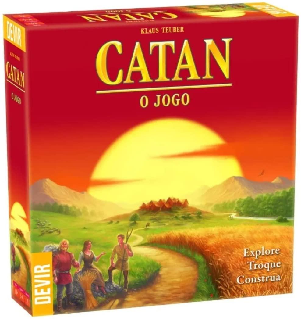 colonizadores de catan é um dos mais famosos board games