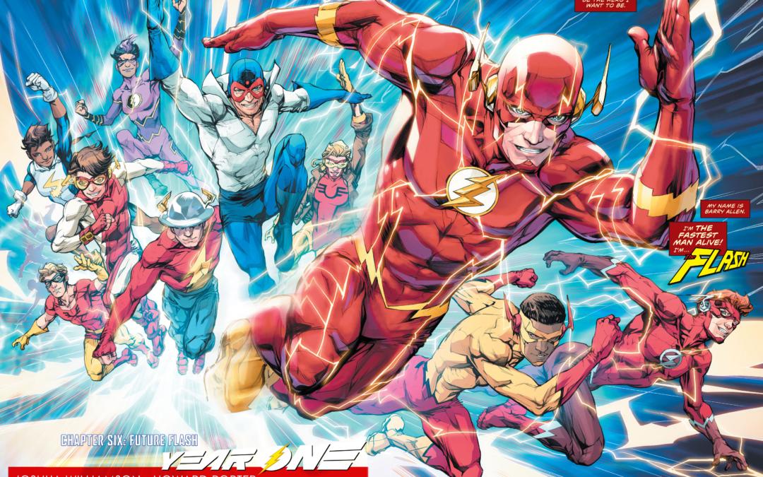 As 17 Melhores HQs do Flash