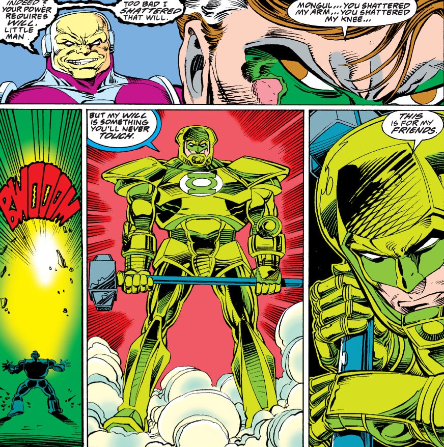 As melhores HQs do Lanterna Verde 6