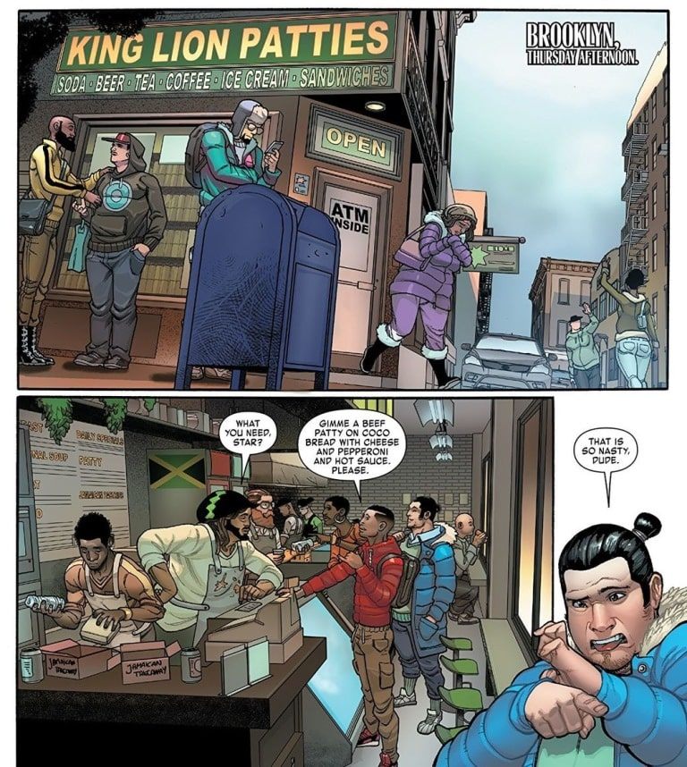 Miles Morales Homem-Aranha 1 Direto do Brooklyn