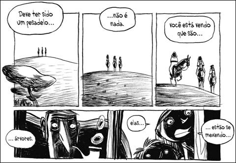 Três Sombras de Cyril Pedrosa
