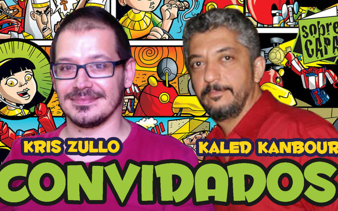 Kaled Kanbour e Kris Zullo – Revista Recreio – Costelinha 093
