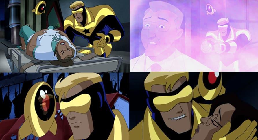 Gladiador Dourado em Liga da Justiça Sem Limites