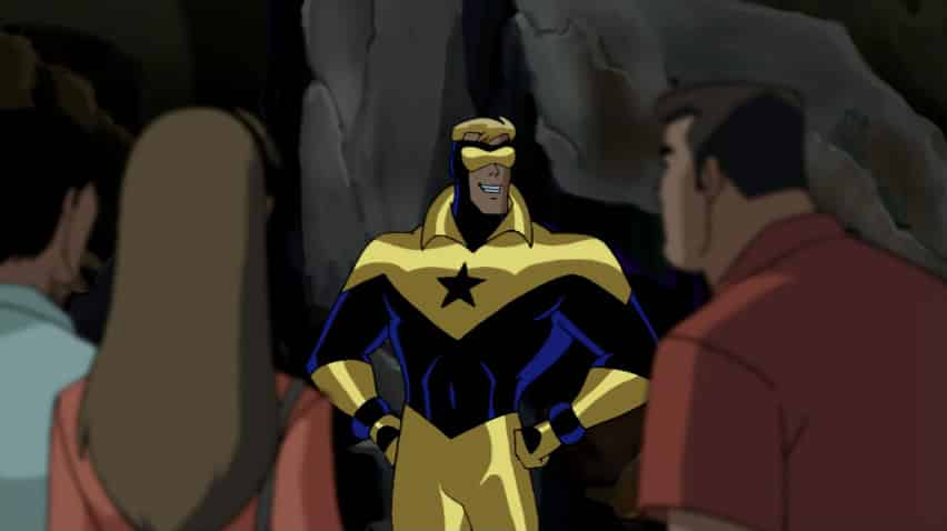 Gladiador Dourado em Liga da Justiça Sem Limites (Desenho) – O Ultimato