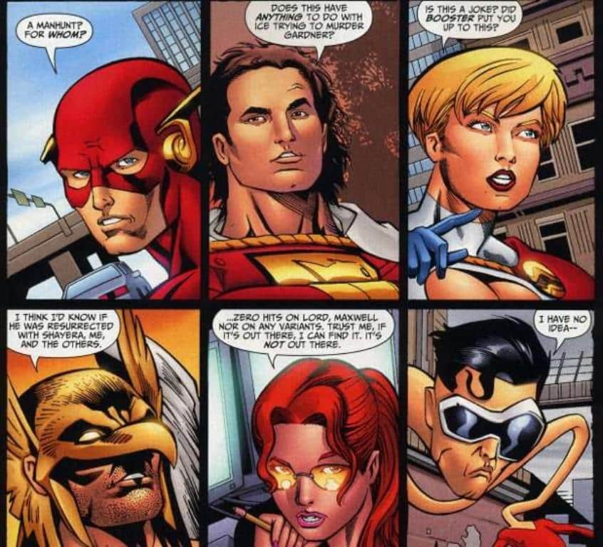 Liga da Justiça Geração Perdida de Judd Winick e Keith Giffen - O Ultimato (1)