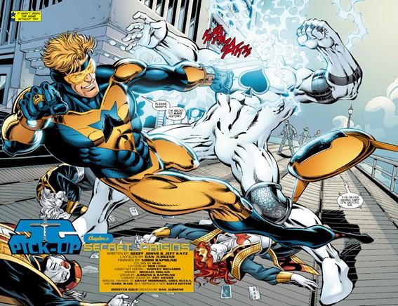 Gladiador Dourado de Geoff Johns