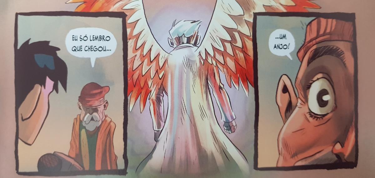 miguel se torna o anjo assassino para cumprir sua vingança