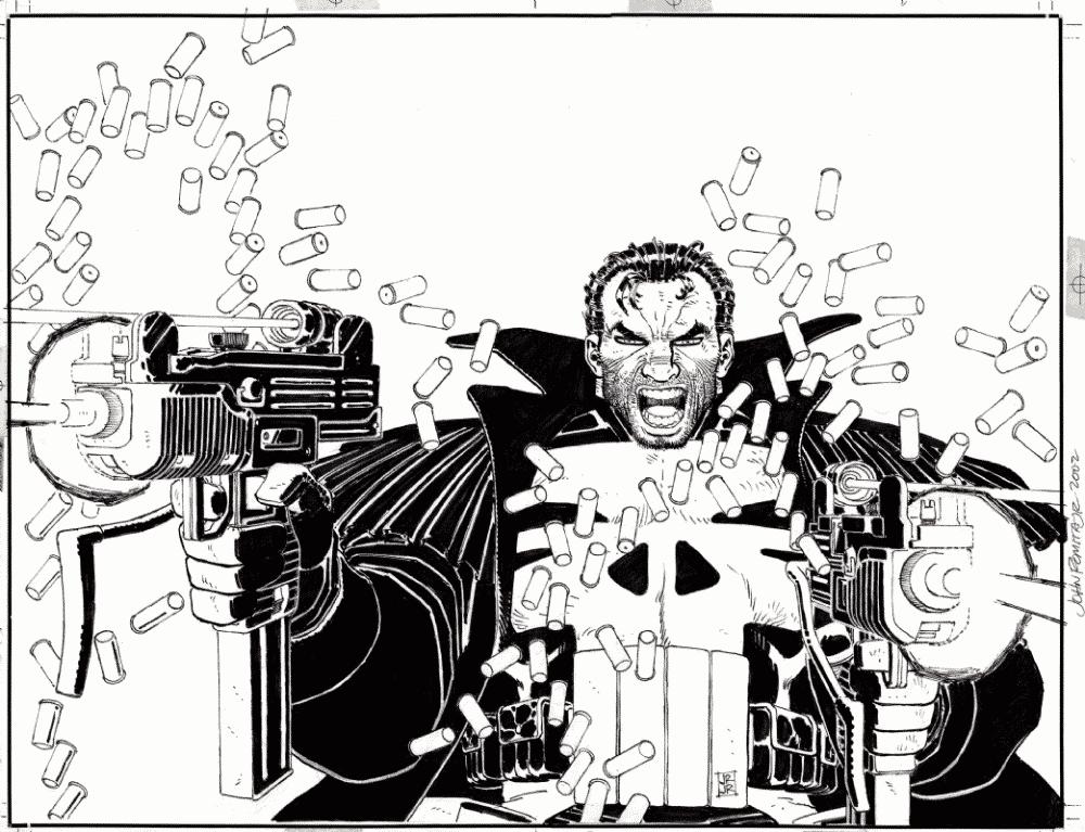 Justiceiro Zona de Guerra de Chuck Dixon e Romita Jr - O Ultimato 2