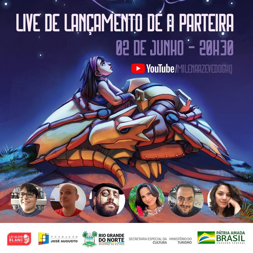 Lançamento de A Parteira de Milena Azevedo e José Veríssimo 2