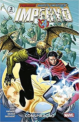 Vingadores e Quarteto Fantástico Impéryo