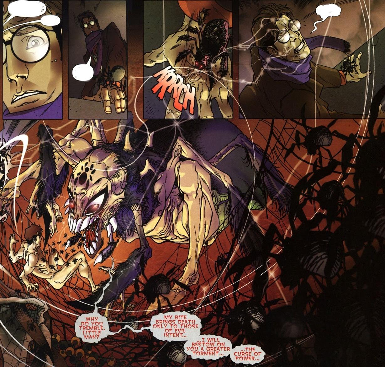 peter tem poderes misticos em homem aranha noir