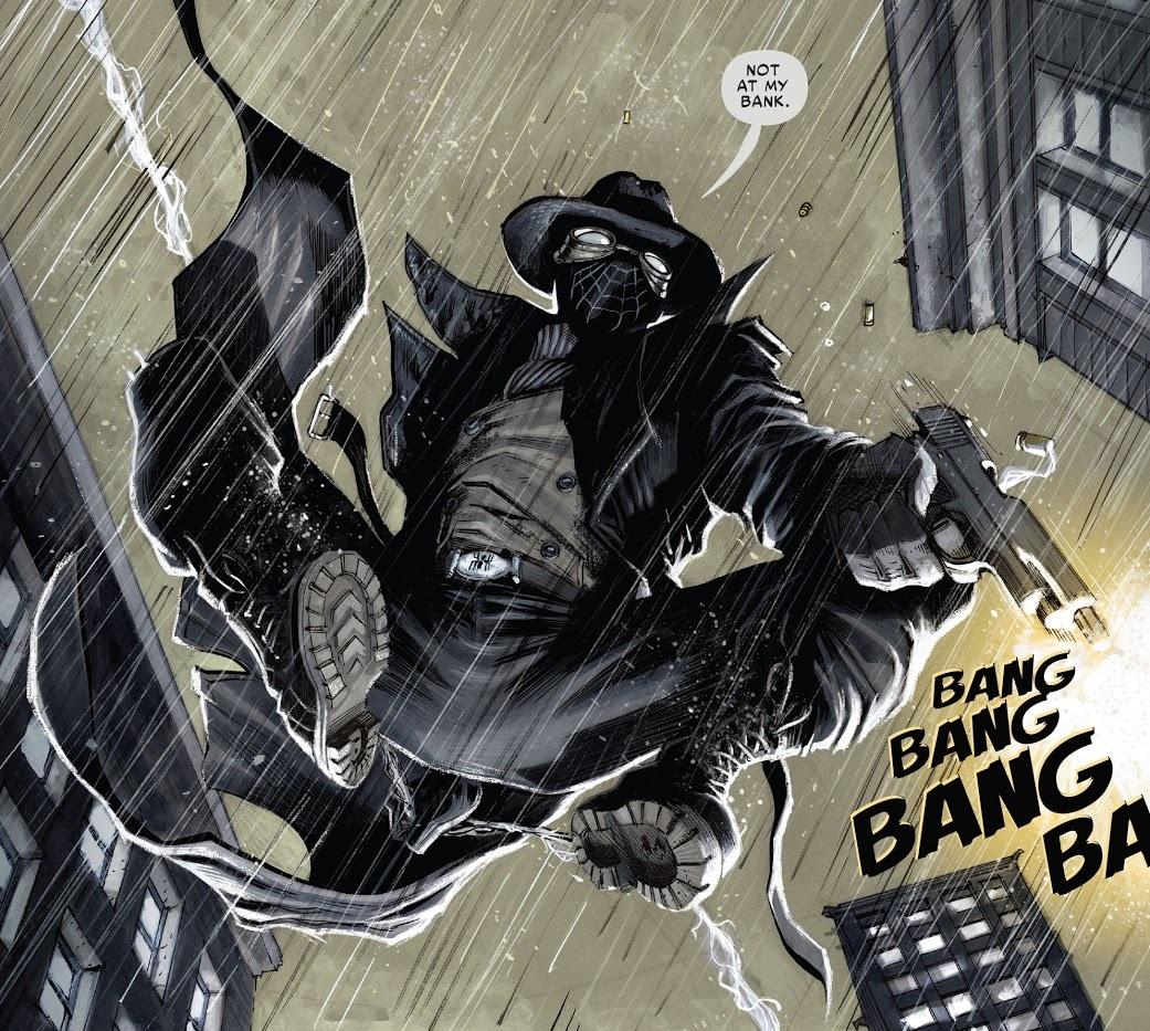 Homem Aranha Noir Crepúsculo na Babilônia - O Ultimato 1