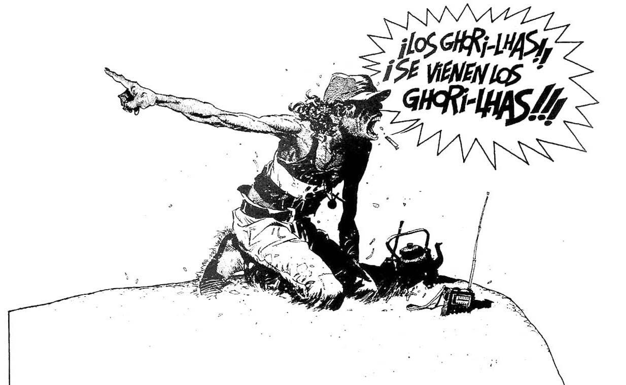 El Sueñero de Enrique Breccia - O Ultimato 1