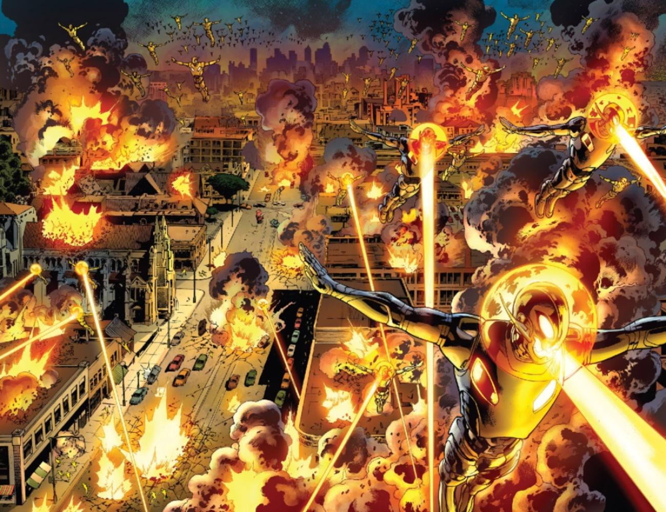 Sagas e HQs DC e Marvel com Viagem no Tempo! 14