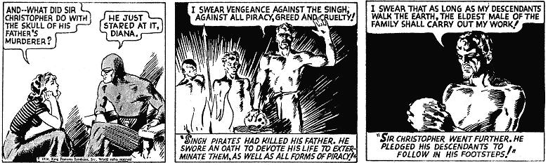 Fantasma Os Piratas Singh (1936) – Baú de HQs