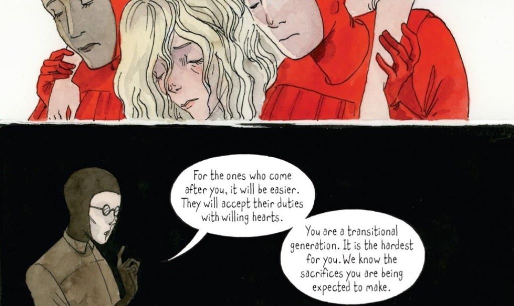 Conheça O Conto da Aia em Quadrinhos (1)