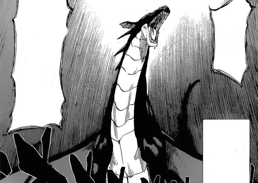 dragões negros ameaçam a paz em Burn the Witch