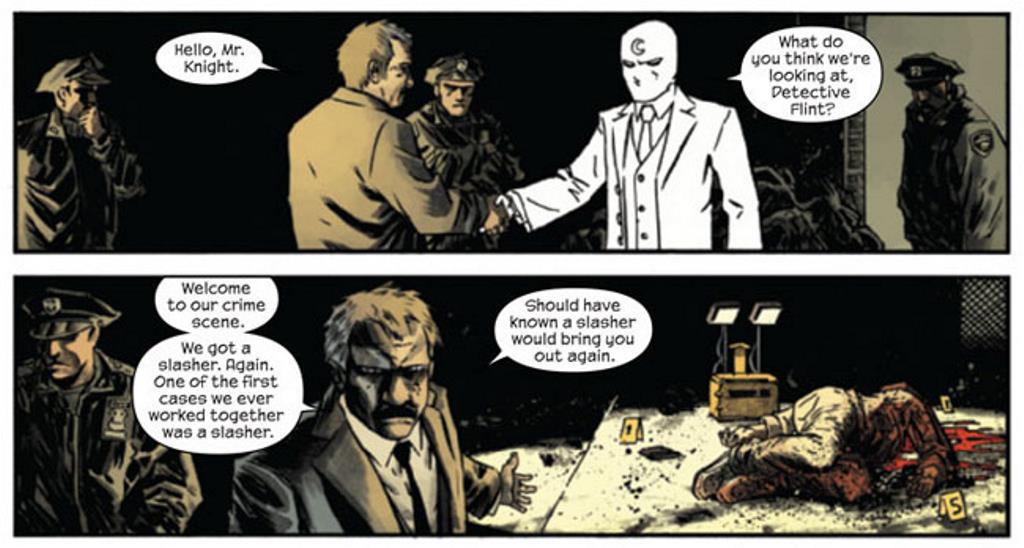 Cavaleiro da Lua de Warren Ellis - O Ultimato (1)