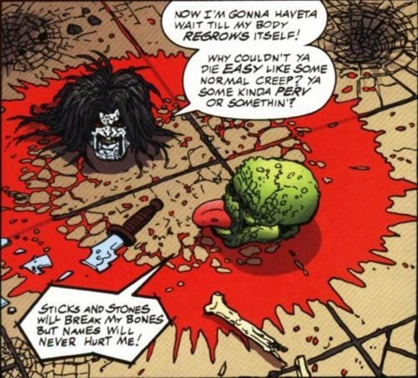 Lobo & Máskara de John Arcudi e Alan Grant - O Ultimato (1)